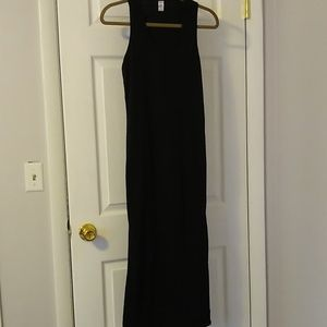 Maxi dress, black dress size large by west loop